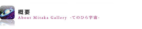 Mitaka Gallery とは